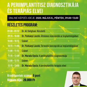 Dentium online kreditpontos képzése