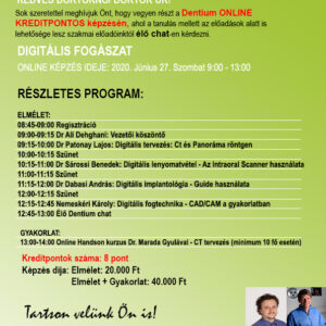 Dentium Online kurzus 2020 Június 27.