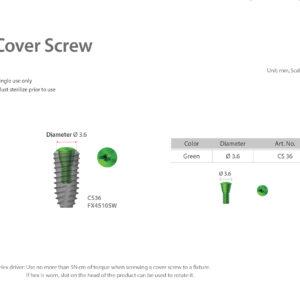 Záró csavar / Cover Screw